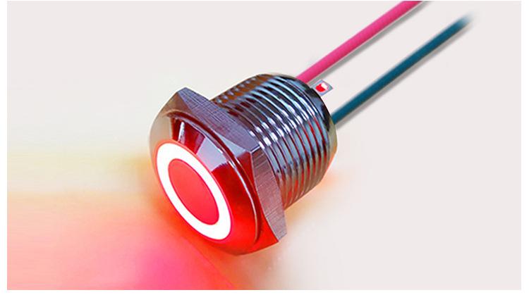 电源指示灯,设备指示灯,双色三色led灯,8mm金属指示灯
