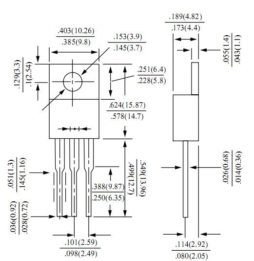 肖特基二极管是设计于高速开关应用。电路保护。电压钳位。极低正向电压降低传导损耗,微型表面贴装包是极好的手持和便携式应用空间是有限的 大功率整流二极管特点 : 金属半导体结与保护环 低正向压降 高电流能力 塑料材料进行UL认证94V-0 适用于低电压,高频率逆变器,免费使用 续流和极性保护应用 外延建设 大功率整流二极管机械数据 : 案例:TO-220AB模压塑料 极性:颜色频带为负极 重量:1.