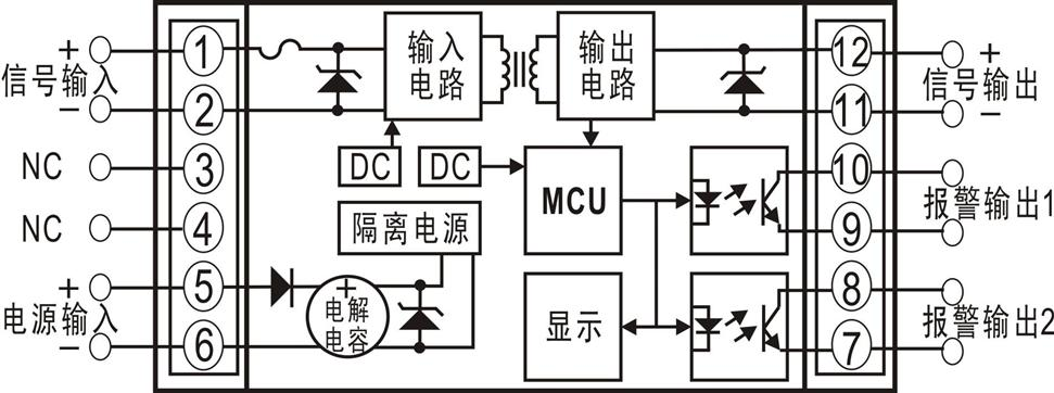 标准模拟量隔离放大器