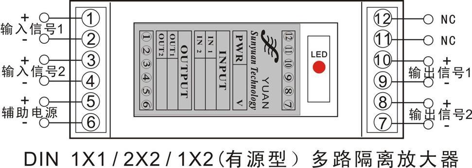 顺源科技SY U-P-O系列直流电压信号与SY A-P-O系列直流电流信号两隔离放大器隔离变送器,采用小体积(SIP 8Pin)、低成本设计方案,主要用来解决传感器与仪器仪表、PLC、DCS之间:0.4-2V/0-5V/1-5V/0-10V/0-20mA/4-20mA等非标准模拟量与标准模拟信号的转换问题。产品具有高精度和高线性度特点,工作电源与信号通道之间的2000VDC隔离电压,可抑制供电系统中浪涌和共模谐波干扰。产品使用非常方便、免零点和增益调节,无需外接调节电位器等元件,即可实现工业现场模拟信号的