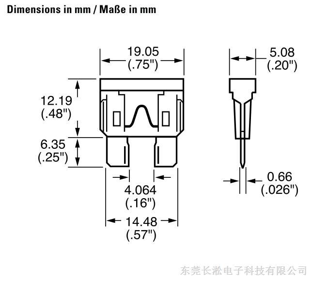 大功率:ato保险丝25和30安培保险丝可用于空调或其他大功率应用