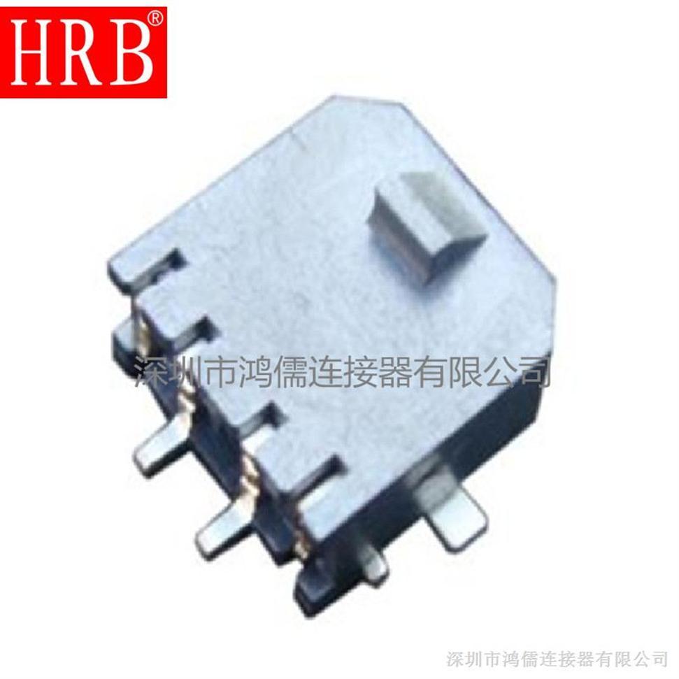 单排SMT卧贴针座,90度带贴片针座,3.0MM间距接插件,UL认证 品质保证